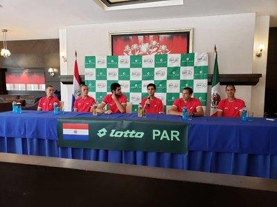 Paraguay enfrenta desde este viernes a México por Copa Davis