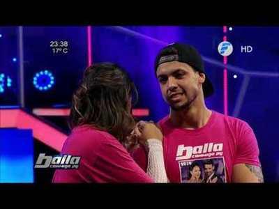 Mortero Bala y Ale Dragui siguen en Baila Conmigo Paraguay