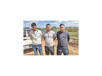 Tres sospechosos que serían parte de la  logística del grupo caen en Desmochados