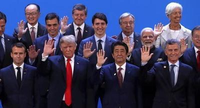 El PIB de las 20 economías del mundo creció 2,9%