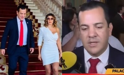 Rodolfo Friedmann Asumió Como 'Ministro De Agricultura' Acompañado Por Marly