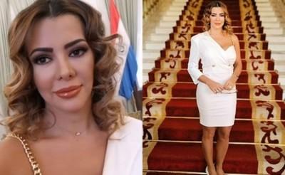 En Medio Del Juramento De Su Esposo Marly Figueredo Se Convirtió En 'tendencia'