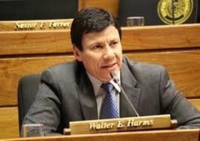 Mario Abdo debe analizar la posibilidad de relevar al ministro del Interior, sostiene Walter Harms