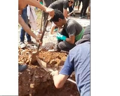 Hallaron más restos óseos en la ex casa de Stroessner en Ciudad del Este