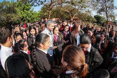 Gobierno habilita mejoras en el Instituto de Formación Docente de Horqueta