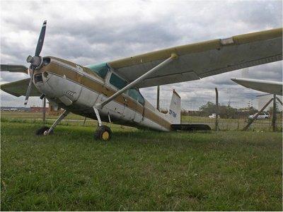 Estado se apropia de avionetas incautadas del narcotráfico