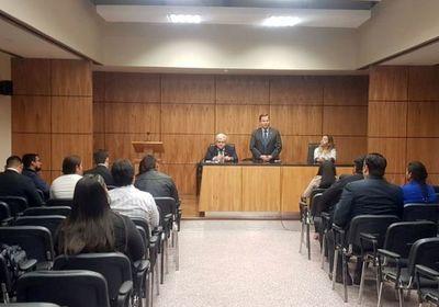 Ministro Martínez Simón participó de evaluaciones para concursos en Alto Paraguay