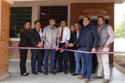 Gobierno habilita obras en Instituto de Formación Docente de Horqueta