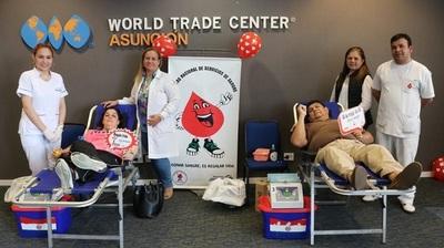 Buscan concienciar sobre la importancia de donar sangre