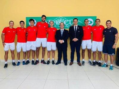 La Albirroja de tenis, lista para medir a México en Copa Davis