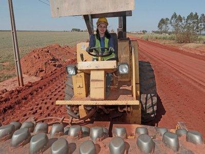 Las mujeres paraguayas que construyen rutas