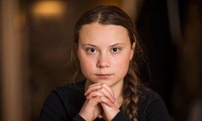 La ecologista sueca Greta se manifiesta frente a la Casa Blanca