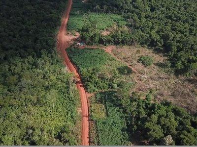Devastación en  reserva Morombí contaminará el Acuífero Guaraní