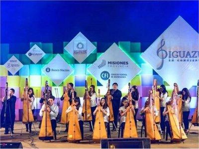 El      Festival Mundial del Arpa se despide con dos recitales