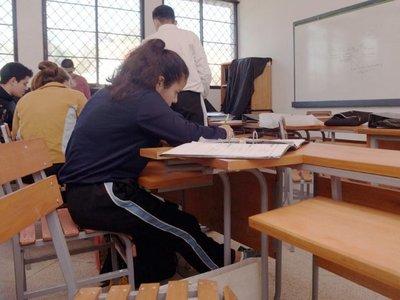 Dan clases de Informática, pero no tienen computadoras en el colegio
