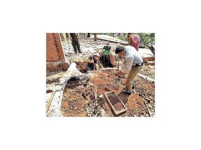 Nuevo hallazgo de restos óseos en casa de Alfredo Stroessner