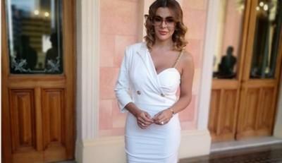 Marly Figueredo Esto Explicó Del Look Que Utilizó En El Juramento De Su Marido