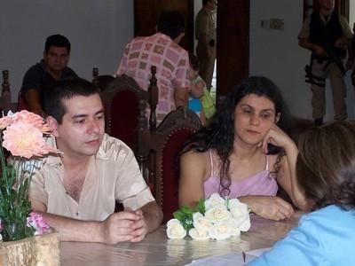 Carmen Villalba y Alcídes Oviedo Britez se divorcian