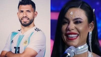 Relacionan A Ana Rios Con El Afamado Jugador Sergio 'El Kun' Agüero, Esta Fue Su Reacción