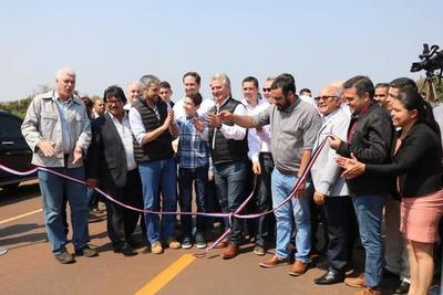 Nueva ruta representa enormes oportunidades de desarrollo, afirma gobernador