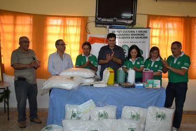 Centro sanjuanino realiza donación al Hospital de San Juan Bautista