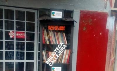 HOY / Bibliotecas Callejeras llega a Las Mercedes y suma 34 puestos en todo el país
