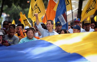 """Juan Guaidó a los votantes en Argentina: """"El comunismo hace mucho daño"""""""