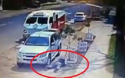 Videos revelan cómo fue el asalto en Capiatá