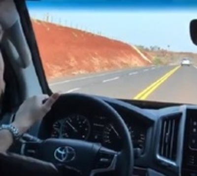 Mario Abdo ya transita por nueva ruta Curuguaty-Villa Ygatimi-Ypejhú