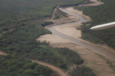 Comisión Nacional habilita canal en el Pilcomayo para garantizar ingreso equitativo de las aguas