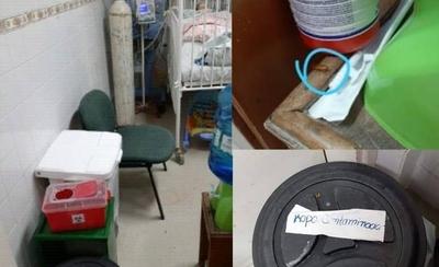 HOY / Bebé con rara enfermedad, internada entre cucarachas: denuncian insalubridad en sala del Acosta Ñu