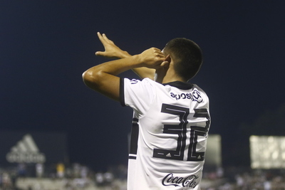 Erik López anota su tercer gol, en su tercer partido, con la Franja Negra