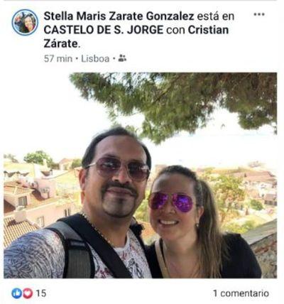 Ayudó a blanquear a Zacarías Irún y ahora disfruta de privilegiadas vacaciones