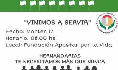 Anuncian protesta a favor de centro oncológico en Hernandarias