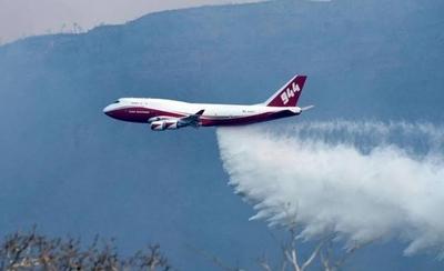 """HOY / Chaco, en llamas: descartan idea de alquilar """"Supertanker"""" utilizado en Bolivia"""