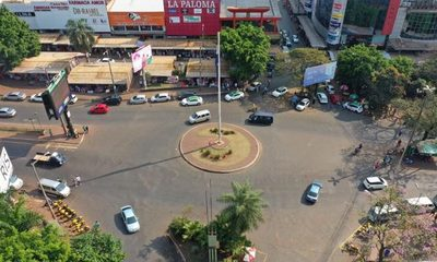 Protestas reducen al mínimo la actividad comercial en el centro de Ciudad del Este