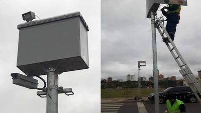 HOY / Instalan radares en la Costanera de Asunción: se podrá circular solo hasta 40 km/h