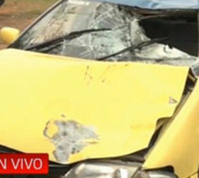 Taxista ebrio atropella y mata