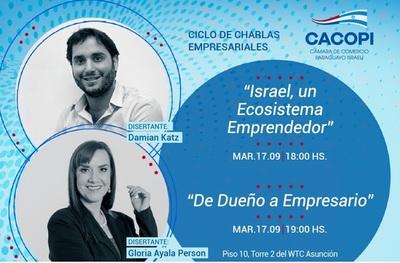 Cacopi invita a su ciclo de charla empresarial