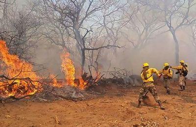 Para la SEN no amerita declarar emergencia nacional por incendio en el Chaco