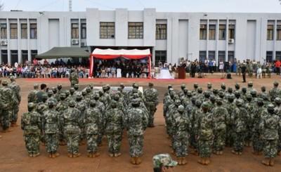 Área Naval recibió a 373 nuevos marinos en CDE