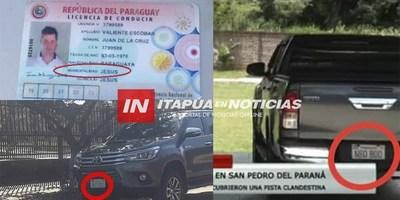 """TODO QUEDA EN FAMILIA: CAMIONETA INCAUTADA A """"PELONCHO"""" ESTÁ EN PODER DE SCHLENDER"""