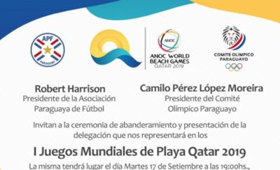 HOY / Paraguay va al primer mundial de Playa que se hará en Qatar