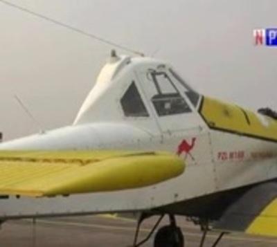 Llegan aviones hidrantes de Argentina para combatir fuego en el Chaco