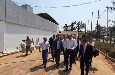 Hospital Regional del IPS en Pedro Juan estará terminado en noviembre