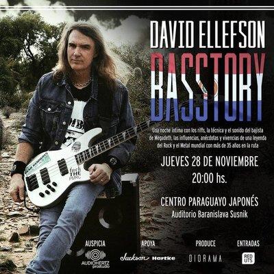 En noviembre bajista de Megadeth presentará master class en Asunción