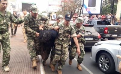 """""""Mbururú"""" y otros 44 invasores son acusados y van Juicio Oral"""
