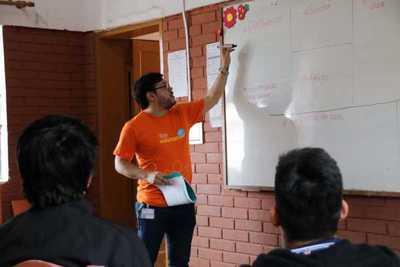 Colaboradores de Itaú participan de acción voluntaria global