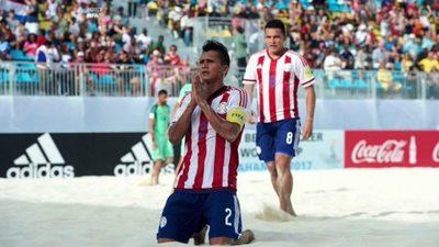 Sol, arena y fútbol en Paraguay