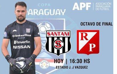 Copa Paraguay: Santaní y River Plate por el boleto a los cuartos de final